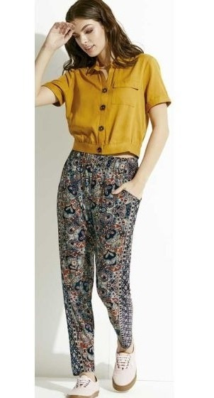 Pantalon Casual Azul Holly Land 030c