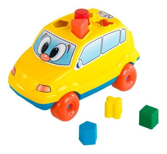 Auto Arrastre Didáctico Baby Car C/encastre 704 Calesita Ef