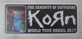 Korn - Placa Do Show Em Curitiba (21/04/2017)