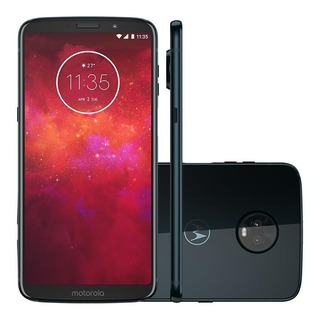 Celular Motorola Moto Z3 Play 128gb Onix Dual Chip Xt1929-5