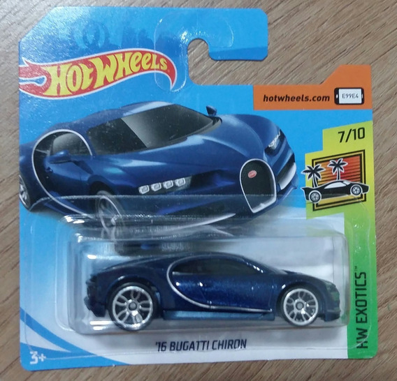 Hot Wheels Bugatti Chiron Lote N 2019