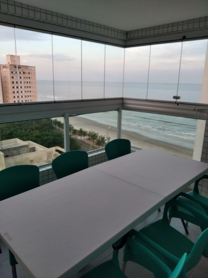 Apartamento 2 Dorm. Com Suíte De Frente Para Praia