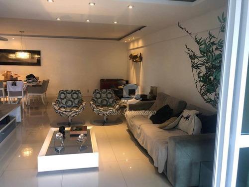 Apartamento Com 4 Suítes À Venda, 187 M² Por R$ 3.200.000 - Icaraí - Niterói/rj - Ap0135