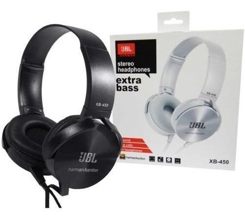 Fone De Ouvido Com Fio Extra Bass Jbl Xb450