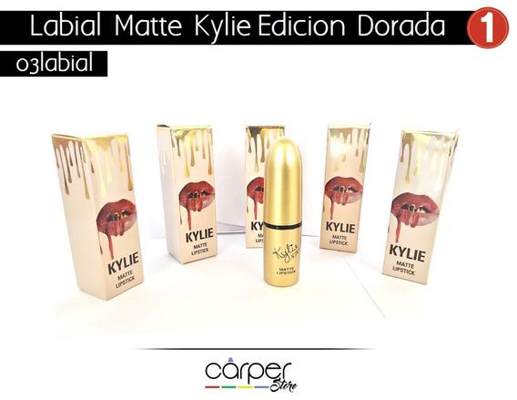 Labial Kylie Matte Edicion Dorada