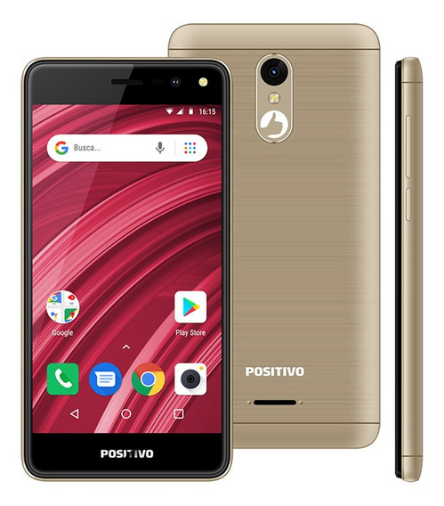 Smartphone Positivo Twist 2 Fit S509 Quad-core Dual Chip Android Oreo 5