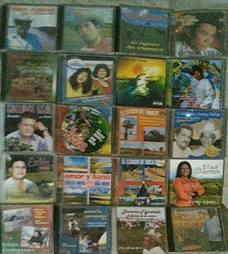 Vendo Coleccion 20 Cds Originales Musica Llanera Pura Crema