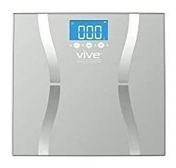 Vive Precision Body Fat Scale (2018 Edition) - Digital Bathr