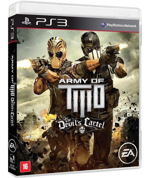 Army Of Two The Devils Cartel (mídia Física) - Ps3 (novo)