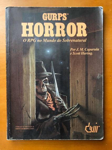 Livro Gurps Horror Rpg No Mundo Sobrenatural