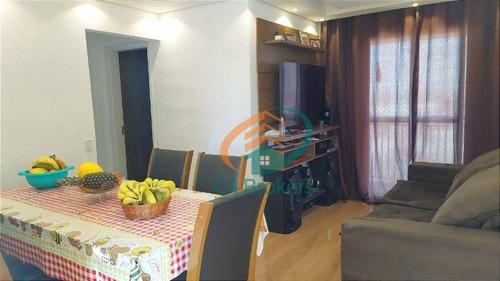 Imagem 1 de 30 de Apartamento Com 2 Dormitórios À Venda, 60 M² Por R$ 300.000,00 - Vila Augusta - Guarulhos/sp - Ap4804