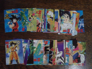 Figuritas Cards Dragon Ball Z C/estuche Portacards Año 1998