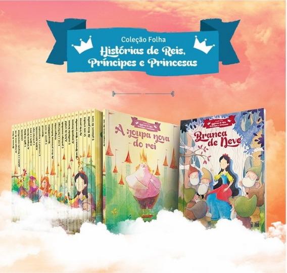 Coleção Folha Completa C/ 25 Livros Infantis Reis Principes