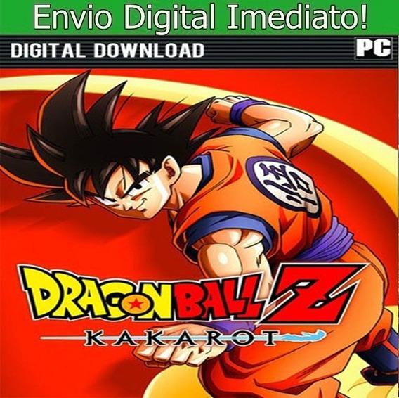 Dragon Ball Z Kakarot Pc Hd Envio Imediato!