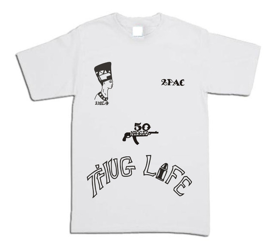 Playera 2pac Tupac Tatts Unisex Icecreambrand