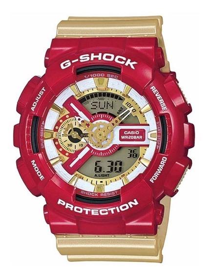 Relógio Casio G-shock Digital/analógico Ga-110cs-4