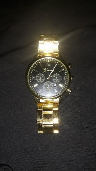 Relógio Geneva Luxury Fashion Unissex