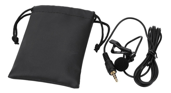Microfone Lapela P/androide/iPhone/câmera Fotografica Notebk