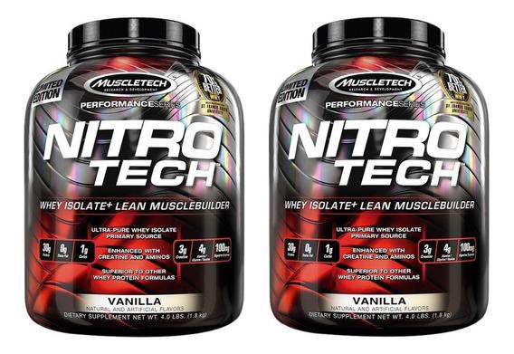 Nitro Tech 3.97 Lb X 2 Unidades Muscletech Proteina