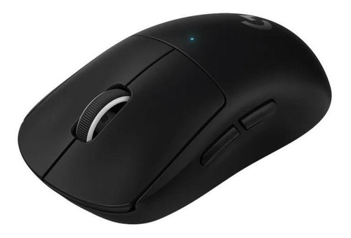 Imagen 1 de 3 de Mouse de juego inalámbrico recargable Logitech  Pro Series Pro X Superlight negro