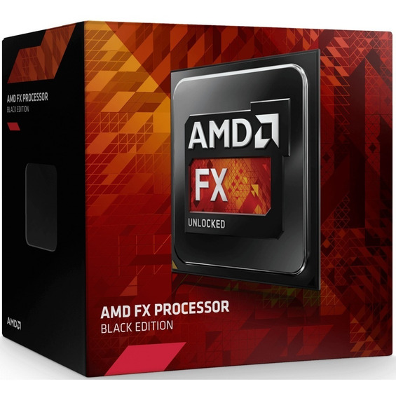 Processador Amd Fx-8300 Black Edition Box! 8 Núcleos / Am3+