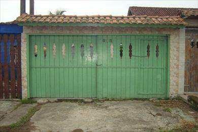 Casa Com 2 Dorms, Balneário Itaguai, Mongaguá - R$ 170 Mil, Cod: 3407 - V3407