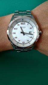 Relógio Fossil Silver Tone Stainless Pr5357