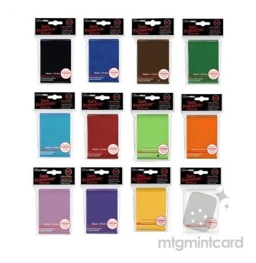 Protectores Ultra Pro Standard 50 Unidades - Colores Varios!
