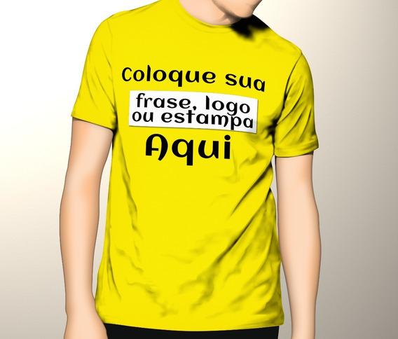Camisa Camiseta Personalizada Com Sua Estampa