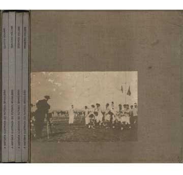 A História Ilustrada Do Futebol Brasileiro - 4 Volumes + Cai