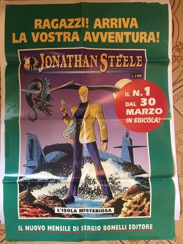 Poster Italiano Jonathan Steele C/dano - Bonellihq Cx417 B19