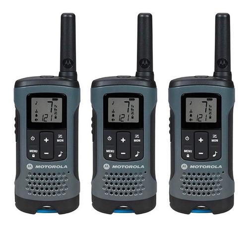 Motorola Radios Comunicación T200tp 32km Walkie Talkie