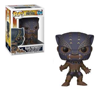 Muñeco Funko Pop Black Panther Warrior Falls #274 Marvel