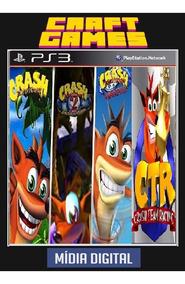 Crash Bandicoot Trilogia + Team Racing Ps3 Psn Digital Game