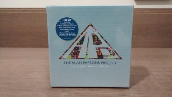 Alan Parsons Project Complete Albums Collection Box 11 Cds