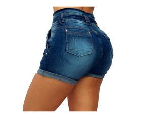 Short Clochard Jeans Curta Estilo Pit Bull Rhero