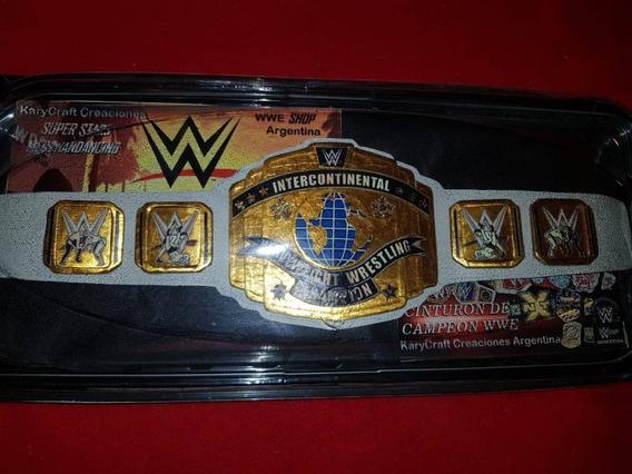 Cinturon Wwe Campeon Intercontinental Edicion 42 Cm