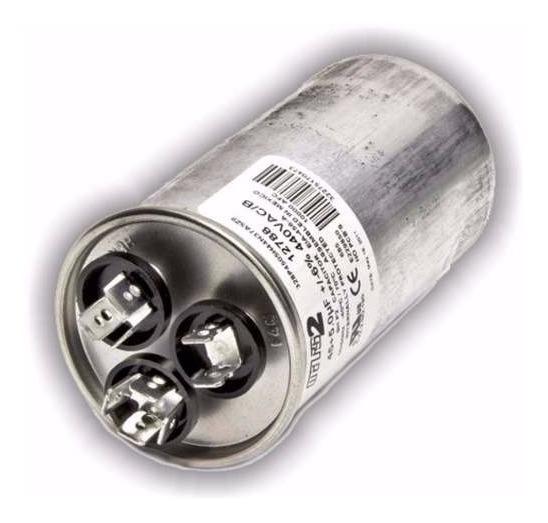Capacitor Combinado Dual Aire Acondicionado 45 + 6 Uf