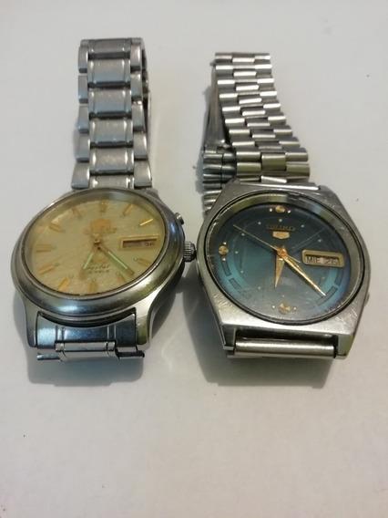 Lote Reloj Orient Y Seiko