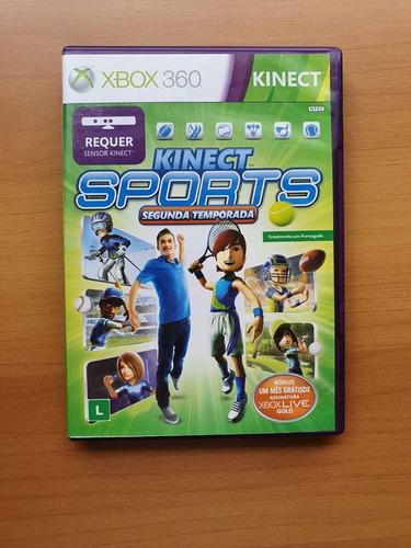 Kinect Sports - Xbox 360 - Usado
