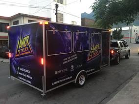 Remolque Para Videojuegos, Game Truck, Camión De Videojuegos