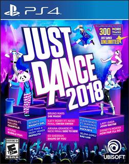 Just Dance 2018 - Ps4 -juego Fisico - Megagames