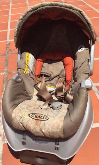 Portabebé Ó Silla De Bebé Para Carro Coche Gracco+base