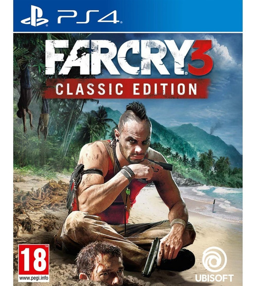 Far Cry 3 Classic Edition Ps4 Mídia Física