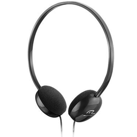 Headphone Light Ph063 Multilaser Preto