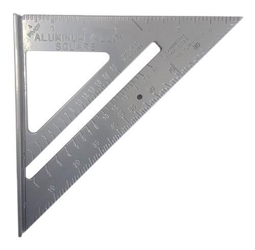 Escuadra Triangular Rápida Métrica Crownman