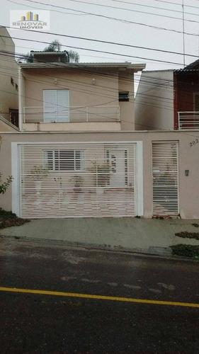Imagem 1 de 14 de Sobrado Residencial À Venda, Jardim Nathalie, Mogi Das Cruzes - . - So0035
