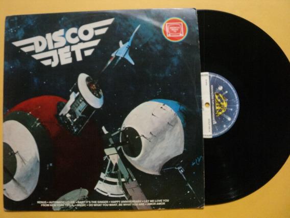 Lp Disco Jet- C/ Vários Artistas- 1978- Frete 15,00
