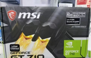Tarjeta De Video Msi Gt 710 2gb Ddr3 En Perfecto Estado