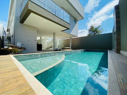 Excelente Casa 04 Quartos Com 04 Suites No Condomínio Portal Do Sol!!! - 3919